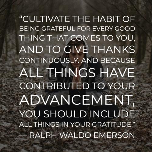 Gratitude-Emerson